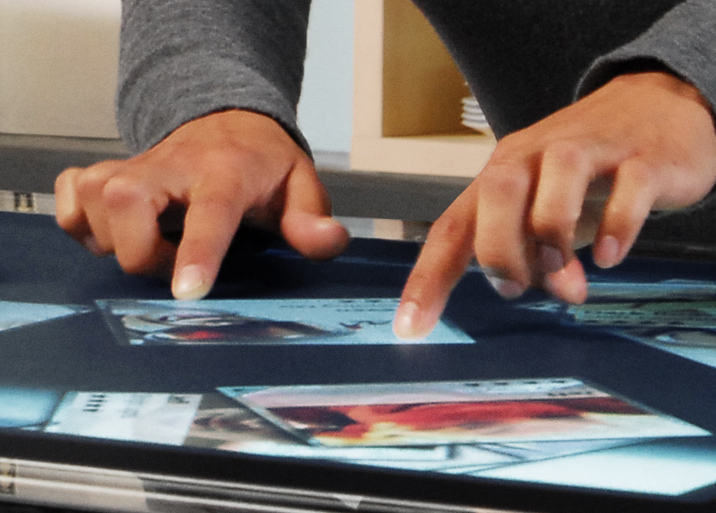 Interactive Multi-Touch technology