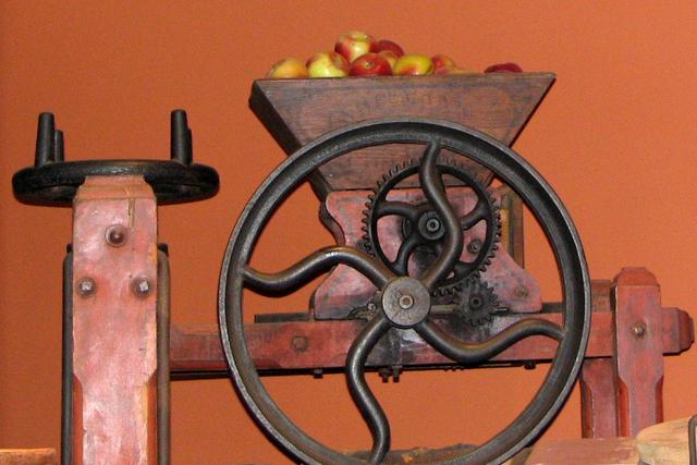 Apple Cider press Antique