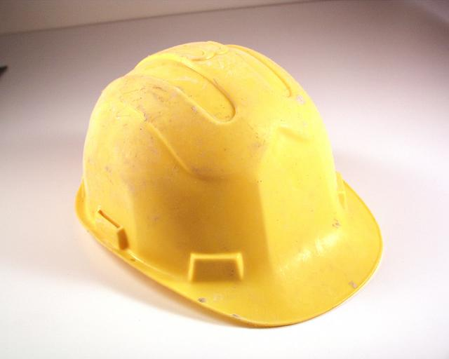 Hard Hat to protect yourself from others