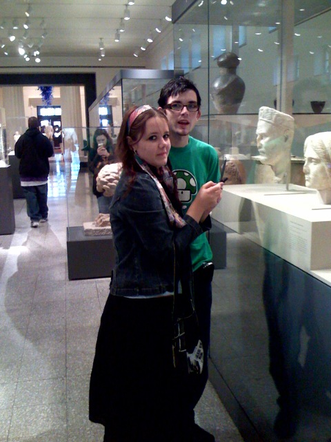 Brittney and Byron at Cincinnati Art Museum