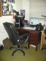Zen Office Makeover – Before and After