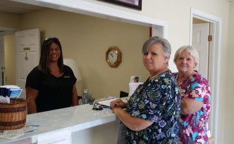 Staff of the Danville Boyle County Senior Citizens Center in Kentucky