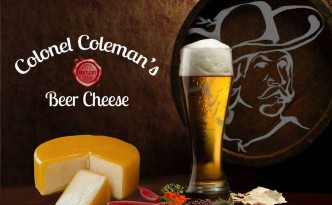 Colonel Coleman's Kentucky Proud Beer Cheese