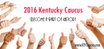 Learn About the 2016 Kentucky Caucus